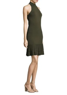 Michael Kors Mockneck Mini Dress