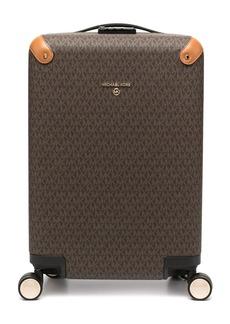 Michael Kors monogram logo print suitcase