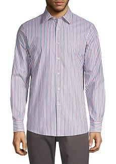 Michael Kors Multi-Striped Shirt