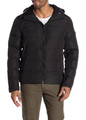 Michael Kors Newstead Quilted Padded Zip Up Jacket