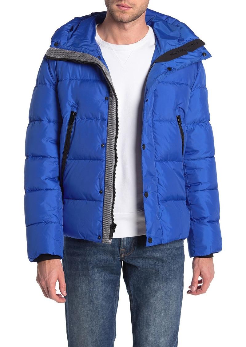Michael Kors Oakfield Water Resistant Hooded Jacket
