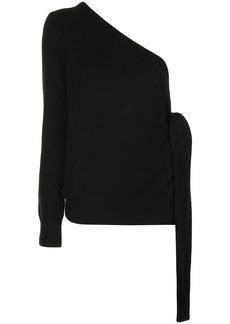 Michael Kors one-shoulder jumper