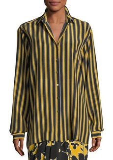 Michael Kors Pajama Stripe Shirt
