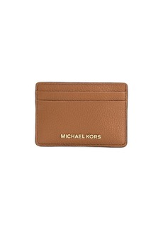 Michael Kors pebbled-effect leather cardholder