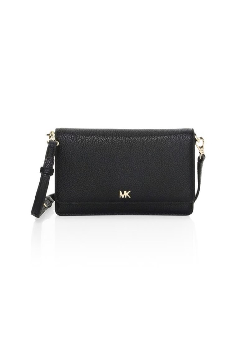 4f513f68f63f MICHAEL Michael Kors Pebbled Leather Phone Crossbody Bag | Handbags