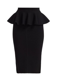 Michael Kors Peplum Pencil Skirt