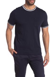 Michael Kors Pique Trim Crew Neck Shirt