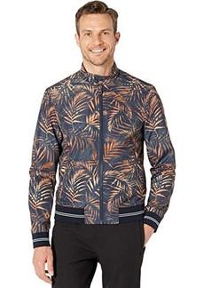 Michael Kors Printed Harrington Jacket