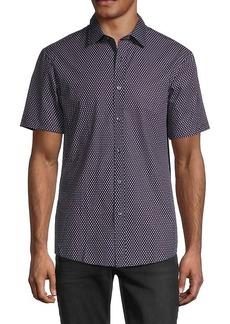 Michael Kors Printed Short-Sleeve Shirt