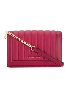 Michael Kors quilted cross body bag