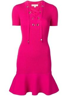 Michael Kors ribbed mini dress
