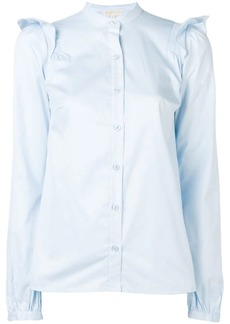 Michael Kors ruffle detail shirt