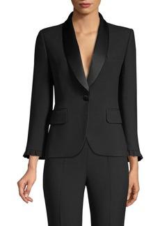 Michael Kors Ruffle Jacket