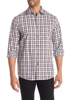 Michael Kors Ryder Plaid Classic Fit Shirt