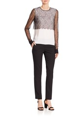 Michael Kors Samantha Virgin Wool Pants