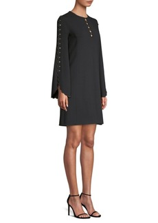 Michael Kors Scallop Sleeve Shift Dress
