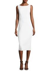 Michael Kors Scoop-Neck Sleeveless Sheath Dress