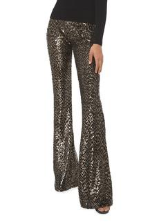 Michael Kors Sequin Flare Pants