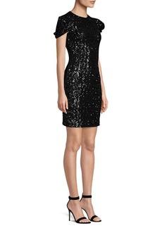 Michael Kors Sequin Sheath Dress