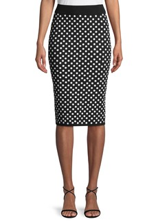Michael Kors Sequined Pencil Skirt