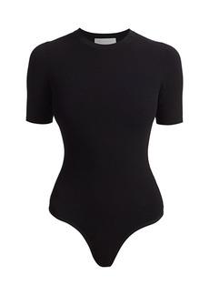 Michael Kors Short-Sleeve Bodysuit
