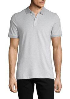 Michael Kors Short-Sleeve Cotton-Blend Polo
