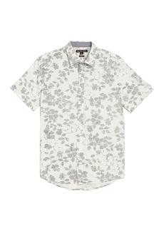 Michael Kors Short Sleeve Everest Button-Down Shirt