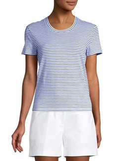 Michael Kors Short Sleeve Striped Tee