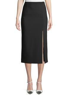 Michael Kors Side-Slit Pencil Skirt