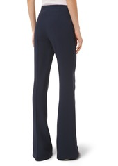 Michael Kors Side Zip Crepe Flare Pants