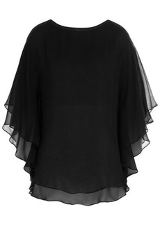 Michael Kors Silk Chiffon Top