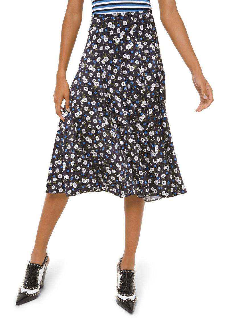 Michael Kors Silk Dance Skirt