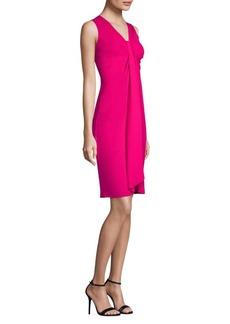 Michael Kors Silk Twist Shift Dress