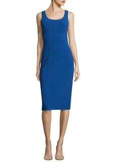 Michael Kors Sleeveless Wool-Blend Dress