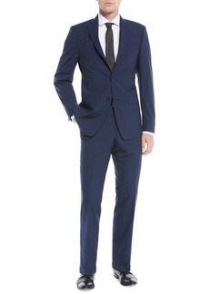 Michael Kors Slim-Fit Check Two-Piece Suit