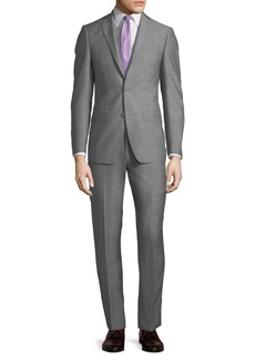 Michael Kors Slim-Fit Neat Herringbone Two-Piece Suit