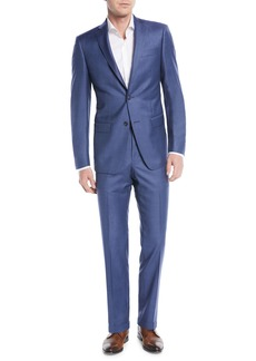 Michael Kors Slim-Fit Sharkskin Two-Piece Suit