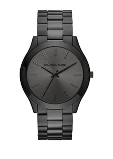 Michael Kors Slim Runway Stainless Steel Analog Bracelet Watch