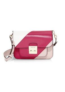 MICHAEL Michael Kors Sloan Editorial Colorblock Leather Shoulder Bag