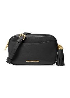 Michael Kors Small Crossbodies Pebbled Leather Camera Bag