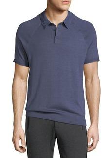 Michael Kors Solid Knit Polo Shirt