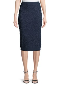 Michael Kors Soutache Pull-On Pencil Skirt