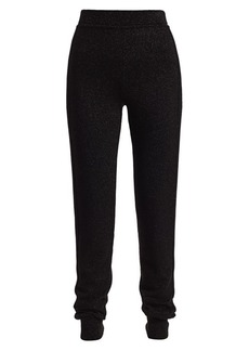 Michael Kors Sparkle Lurex Knit Track Pants