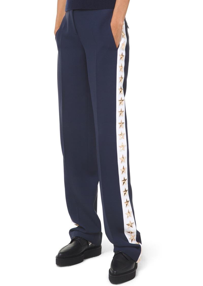 Michael Kors Star Side-Taped Tuxedo Pants