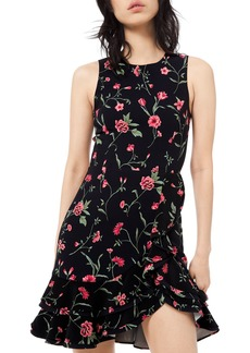 Michael Kors Stemmed Floral Cady Dress