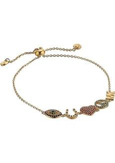 Michael Kors Sterling Silver Lucky Slider Bracelet
