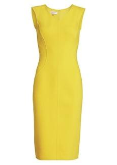Michael Kors Stretch-Bouclé Sheath Dress