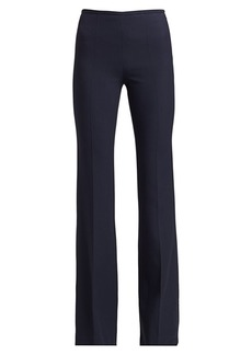 Michael Kors Stretch-Crepe Flare Trousers