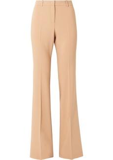 Michael Kors Stretch Wool-blend Flared Pants
