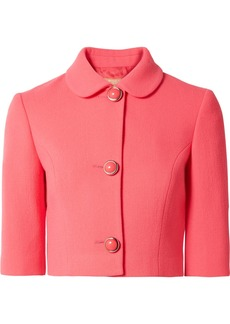Michael Kors Stretch-wool Bouclé Jacket